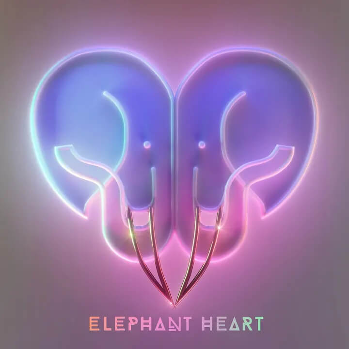 Elephant Heart - Hiya Single Cover Art